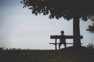backlit-bench-lonely-1280162